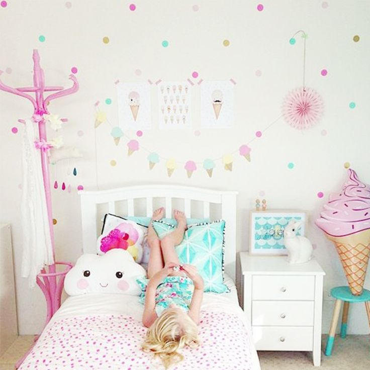 M s de 25 ideas incre bles sobre pared confeti en - Decoracion paredes habitacion infantil ...