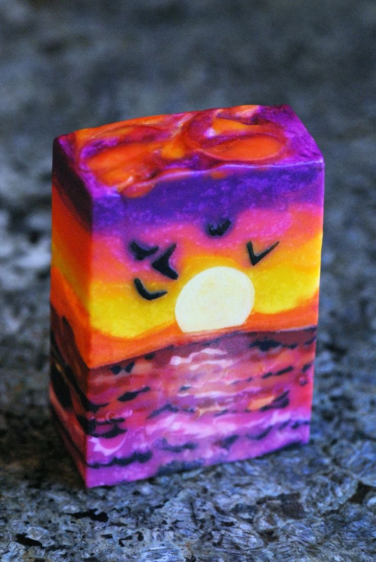 This month's challenge was to make a Landscape-inspired soap. My kids have been begging me for some time to make an ocean soap, as I had tri...