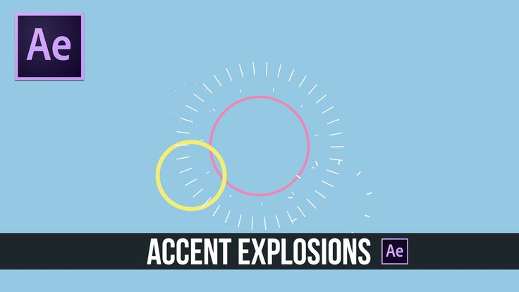 In this Adobe After Effects Tutorial, we will create 2D accent explosion graphics. It's great to incorporate these type of graphics into your motion graphic ...