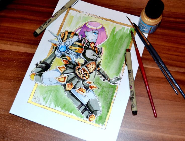 Bladecraft Orianna by Lighane on DeviantArt