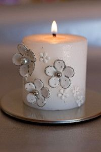 Creative Company   Polymer Clay Projects: Posh candle
