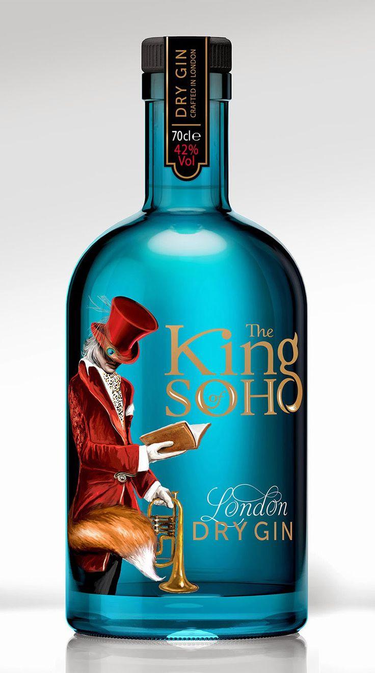Gin bottle by 1HQ