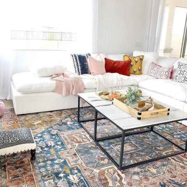 Edessa Tribal Medallion Rust Rug Tribal Rugs Living Room Rugs In Living Room Rugs Usa #traditional #rugs #for #living #room