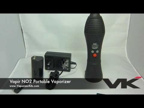 Vapir NO2 Portable Vaporizer Overview YouTube Video $180