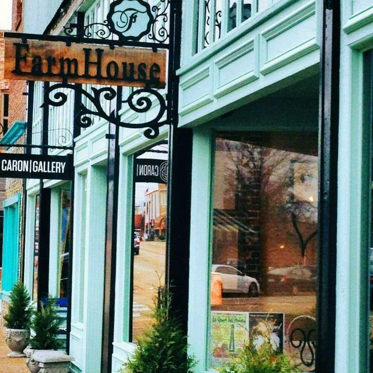 The Farmhouse Tupelo Tupelo MS Stencil Retail Locations Pinterest
