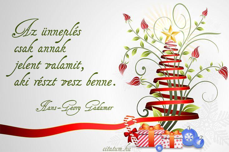 Hans-Georg Gadamer gondolata az ünneplésről.