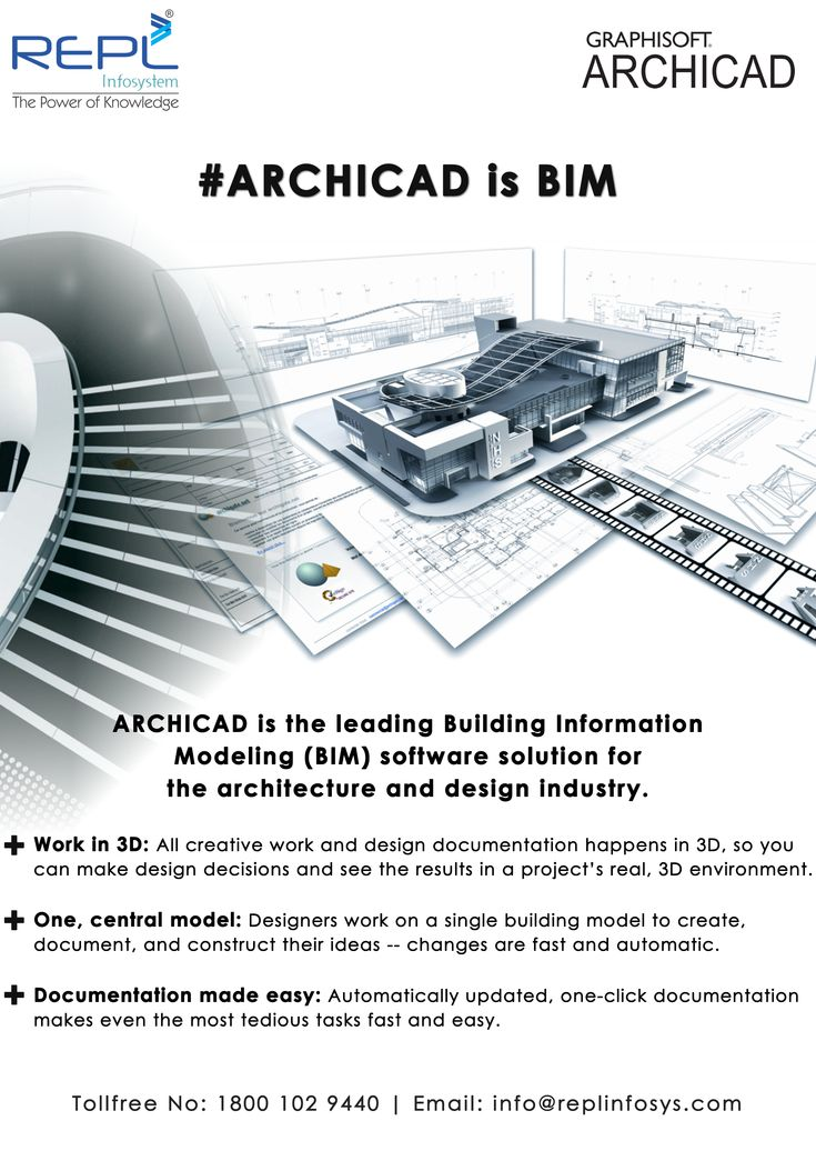 Archicad is the leading Building information Modeling (BIM) Software solution for the Architecture and design Industry. Work in 3D, One central model and Documentation made easy.