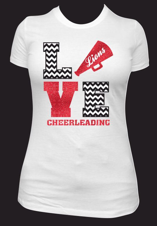 Cheer Spirit Shirt by NeonLeopardDesigns on Etsy https://www.etsy.com/listing/198887247/cheer-spirit-shirt