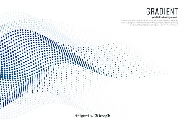 Download Gradient Particles Background For Free Vector Free