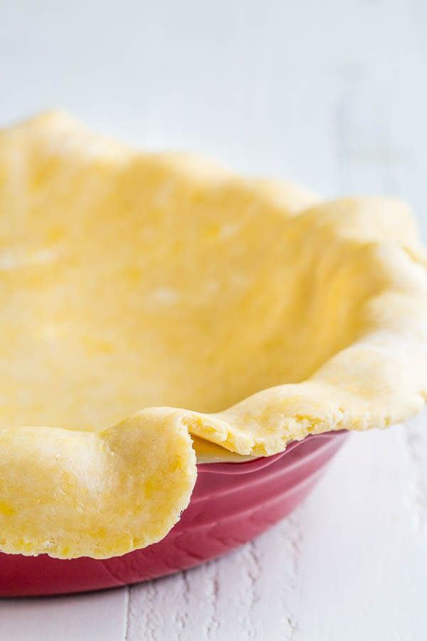 Sharing my family-favorite, foolproof all-butter pie crust recipe with lots of tips on how to store/freeze it and how to avoid annoying shrinking issues.