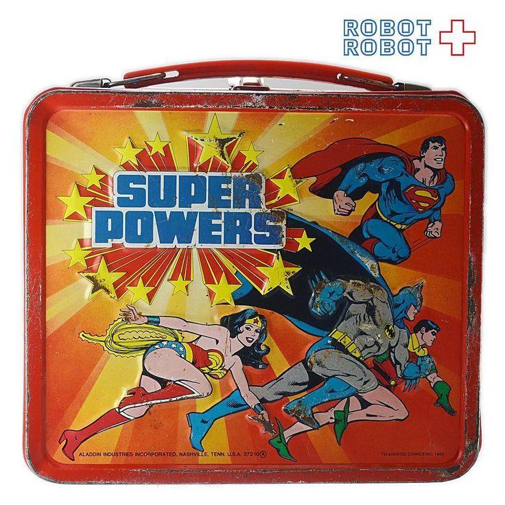 DC スーパーパワーズ メタルランチボックス Aladdin DC Heroes #SUPERPOWERS Metal Lunch Box  #batman #バットマン #バットマン買取 #ActionFigure #アクションフィギュア #アメトイ #アメリカントイ #おもちゃ#おもちゃ買取 #フィギュア買取 #アメトイ買取#中野ブロードウェイ #ロボットロボット  #ROBOTROBOT #中野 #WeBuyToys  #スーパーパワーズ #スーパーパワーズ買取
