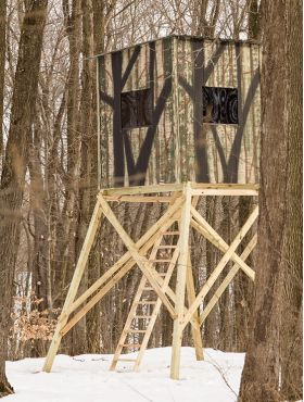 Hunting Blinds :: The Penthouse - Products | Yoder Woodcrafters