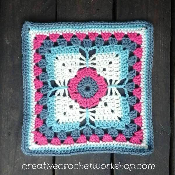 http://www.creativecrochetworkshop.com/granny-squares-afghan-blocks/crochet-block-afghan-2017/