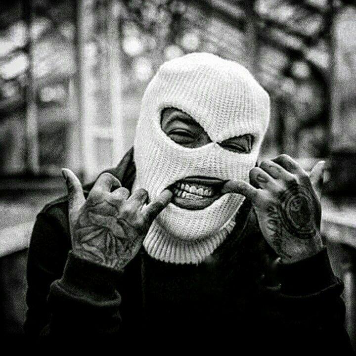 Pin by Ufuk Efe on pp in 2020 | Ski mask tattoo, Gangsta ...
