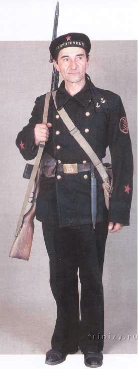 Red Navy seaman 1940 - 1941