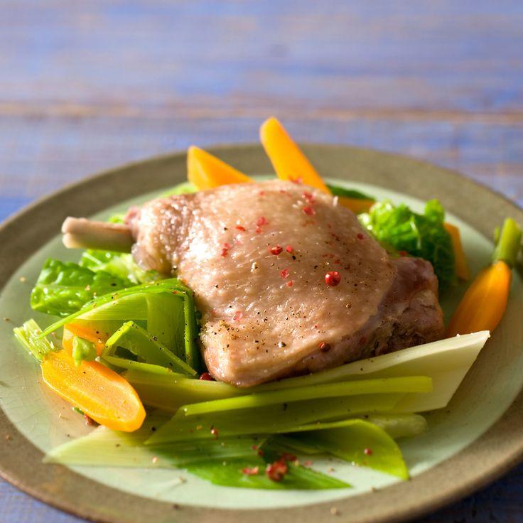 Découvrez la recette du canard en pot-au-feu