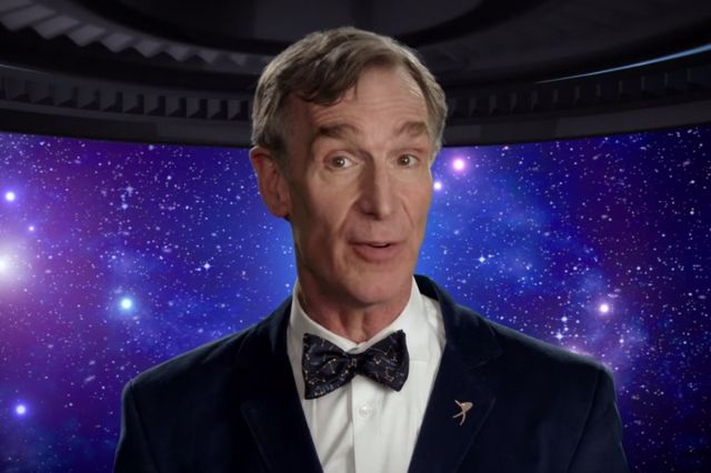 Bill Nye the Science Guy- OHHHH he's more than that- he's Raphael -the true creator of this planet- along with the manifestation of Nikki Tesla-