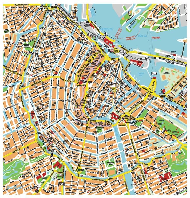 9 Best Hbf Transport Images On Pinterest Cruises Trains And Pennies: Amsterdam Tourist Map English At Slyspyder.com