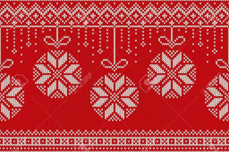 Image result for christmas knitting