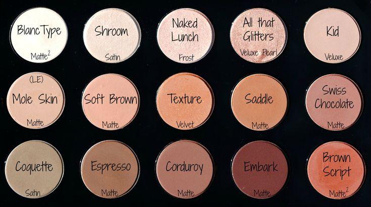 Mac Eyeshadow Palette with Names - Bing Images