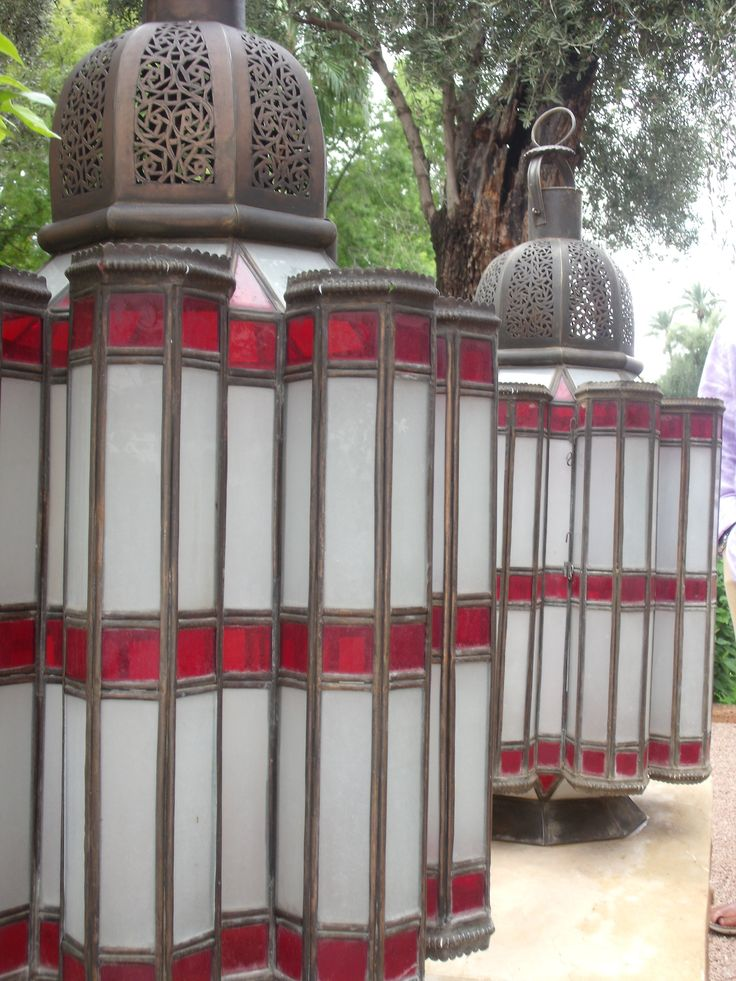Lanterns from La Mamounia