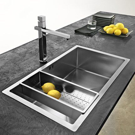 Best 25 evier cuisine inox ideas on pinterest for Evier mural inox