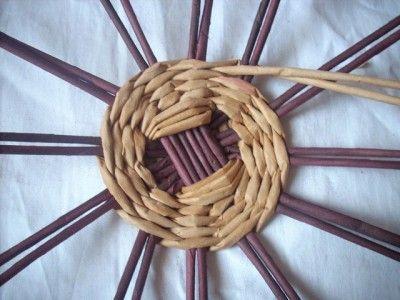 Pletené dno košíku (kulaté)