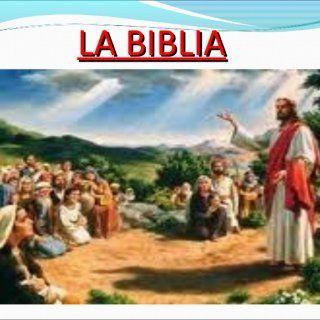 LA BIBLIA   ¿QUÉ ES LA BIBLIA?La Biblia (del griego τα βιβλία, ta biblía, 'los libros') es el conjunto de libros canónicos del judaísmo y el cristianismo. http://slidehot.com/resources/la-biblia-sara.25749/