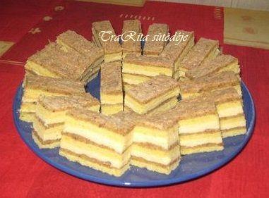 Igencsak rég készítettem, nagyon finom, kiadós sütemény.  Viszonylag gyorsan elkészíthető.   Hozzávalók a tésztához:   40 dkg liszt  1 cs. s...