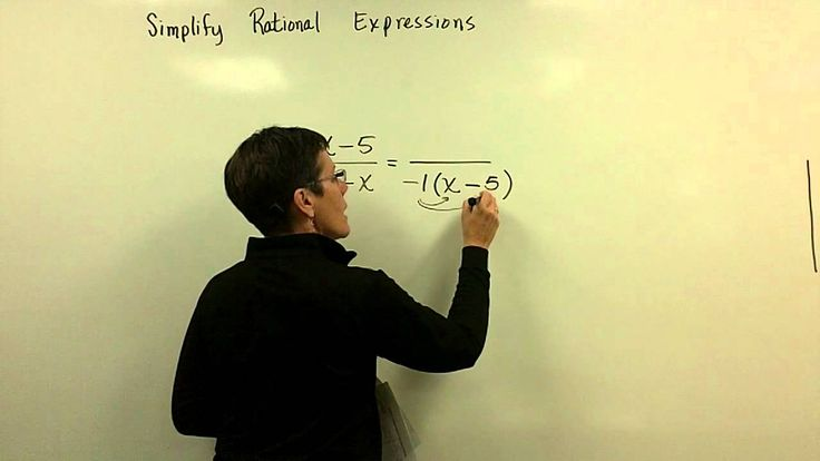 Simplify Rational Expressions Part 2