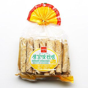 Ginger Flavored Crackers (saenggang maht junbyung) | 12 Korean Snacks You Absolutely Have To Try