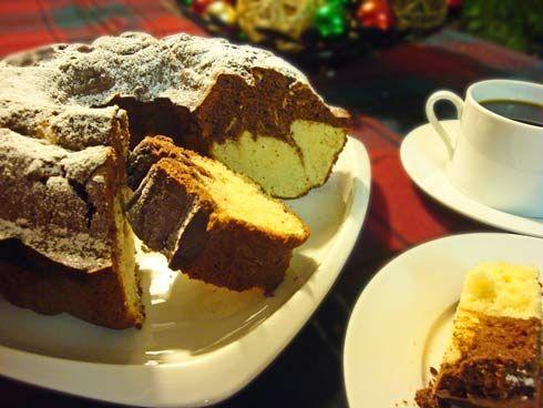 German Pound Cake With Raisins Recipe