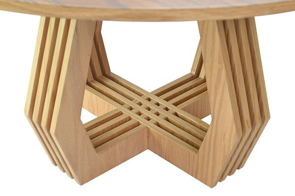 TRAMA mesa de centro / coffee table on Behance