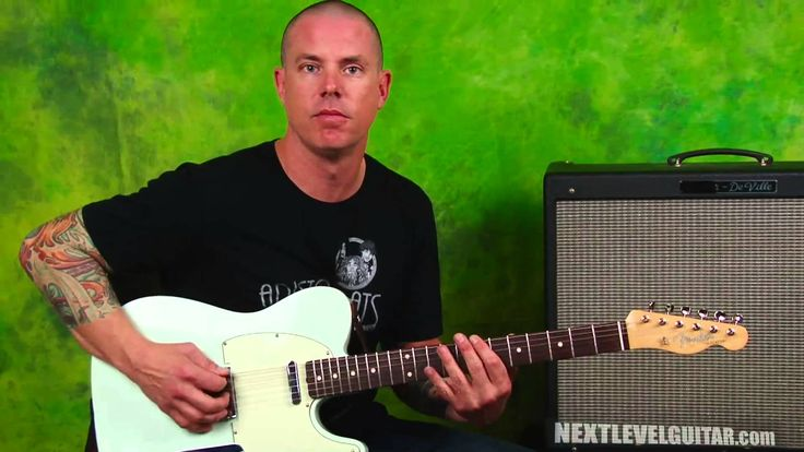 Learn Blues lead guitar licks and rhythms Jimmie Vaughan inspired soloin...