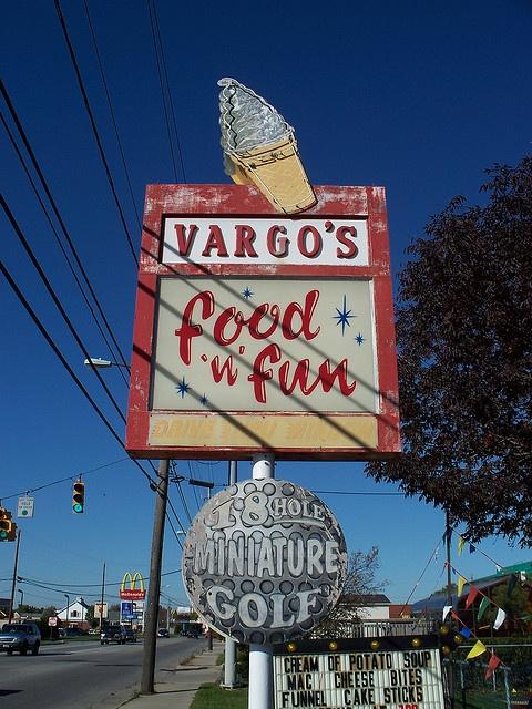 Vargo's Food N Fun ....Norwalk, Ohio .I go here every evening for a watermelon slushy
