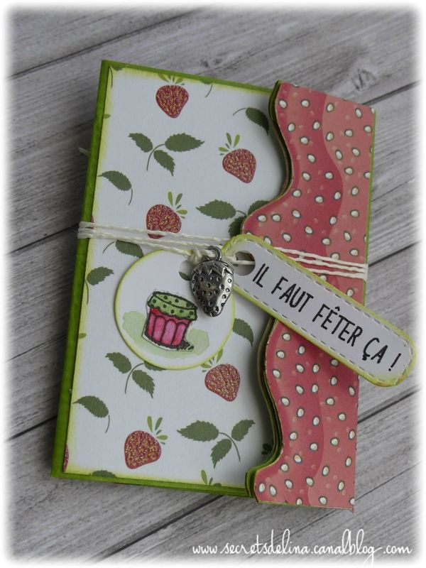 Flipbook il faut feter çà fraise strawberry #secretsdelina anniblog 2017