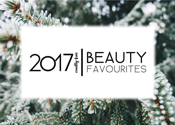 Check out my favourite cruelty-free and vegan beauty favourites from 2017! So many goodies <3