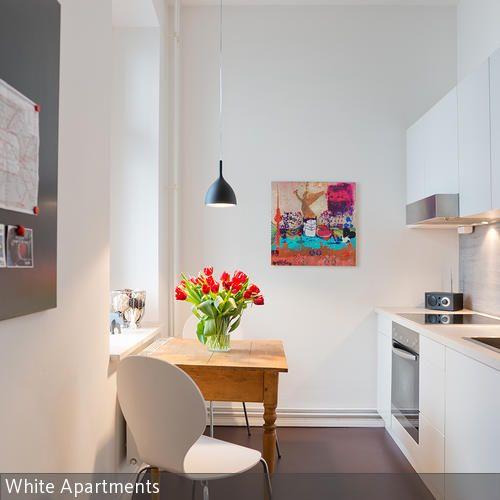 Ein Beweis, dass auch kleine Wohnungen hochwertig aussehen können. Weitere Details unter www.white-apartments.com. Dieses Studio kann monatsweise für 1300  …