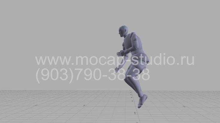 Library Motion capture. 01 Падение.