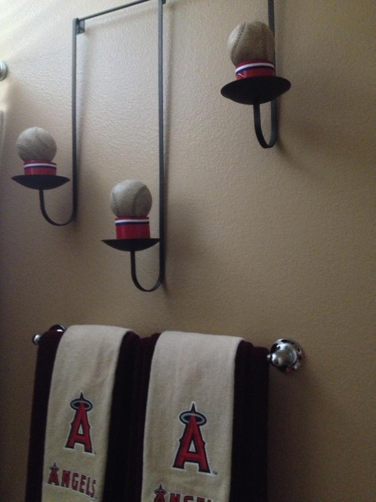 bathroom ideas for a baseball party baseball been berry