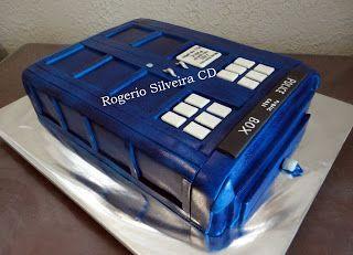 Bolo Seriado Doctor Who