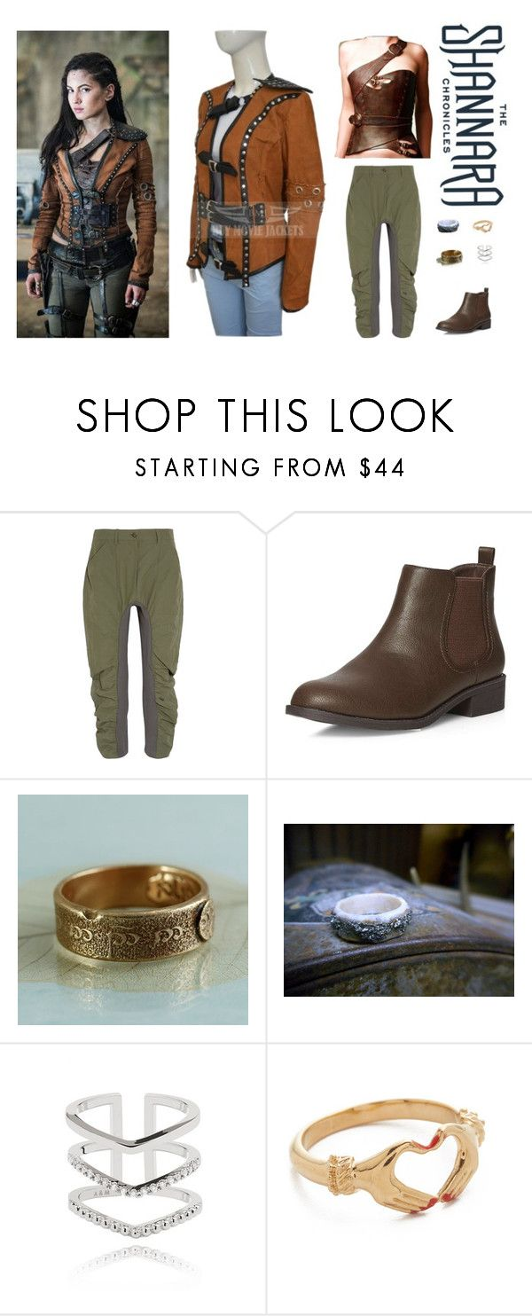 Eretria from The Shannara Chronicles by alyssaauthor on Polyvore featuring STELLA McCARTNEY, Dorothy Perkins, Gillian Steinhardt Jewelry, Astrid & Miyu, adventure, MTV, Shannara and RoverGirl