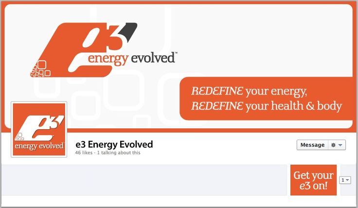 E3 Energy Evolved Facebook Cover - by TweetPages.com #TweetPages