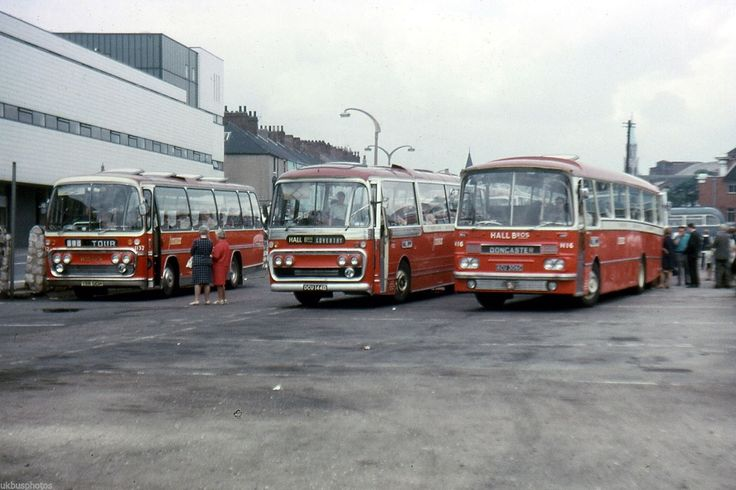 Barton Transport, Chilwell coaches Doncaster 1970 Bus Photo | eBay