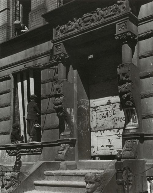 From Harlem Photographs 1932-1940: Aaron Siskind