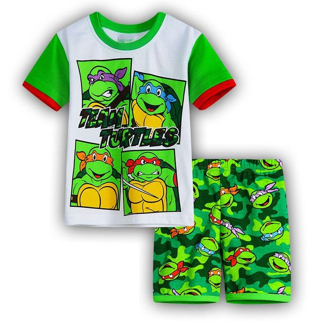 18M - 7T Kids Cartoon Clothing Set