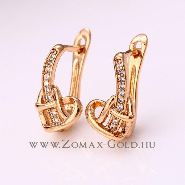 Natasa fülbevaló - Zomax Gold divatékszer www.zomax-gold.hu
