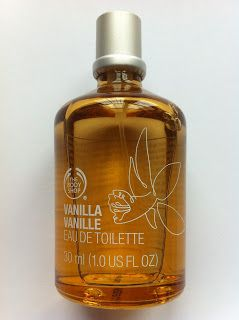 BODY SHOP Vanilla Perfume… love the smell!  from Body Shop - Canada