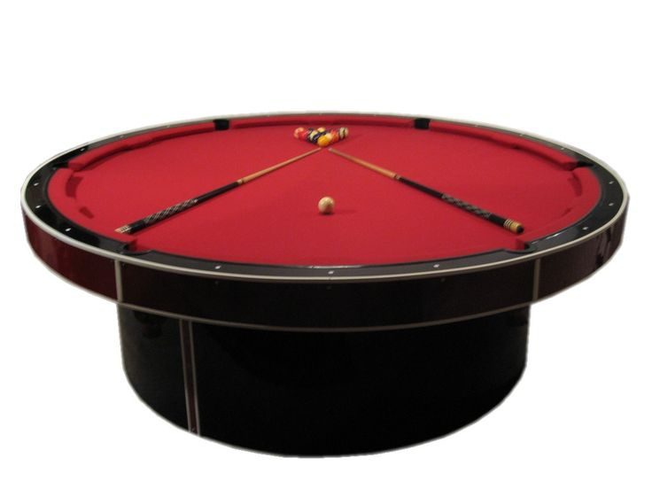Personalized Round Billiards   The Ultimate Head Turner For Your Game Room,  These Round Pool Tables From The JM Billiard Co. Can Be Customized However  You ...