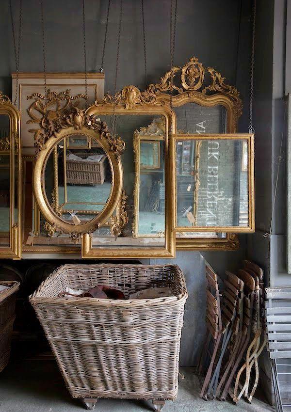 Anouk Beerents antique mirrors | Amsterdam